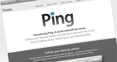Music-Centred Social Network 'Ping' Is Blip In Apple's Chequered Inventory and Apple Will 'Look To Kill It""