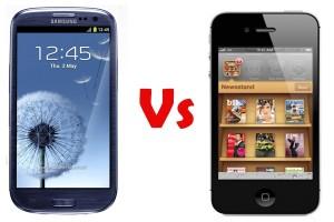 iPhone vs Galaxy S3