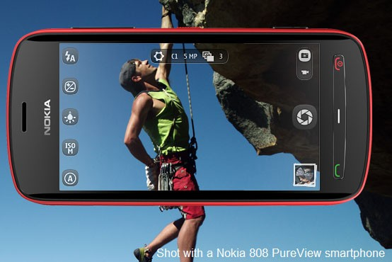 Nokia's PureView 808 — World's First 41 Megapixel Built-in Camera With Pixel Sampling Technology Phone May Come Today