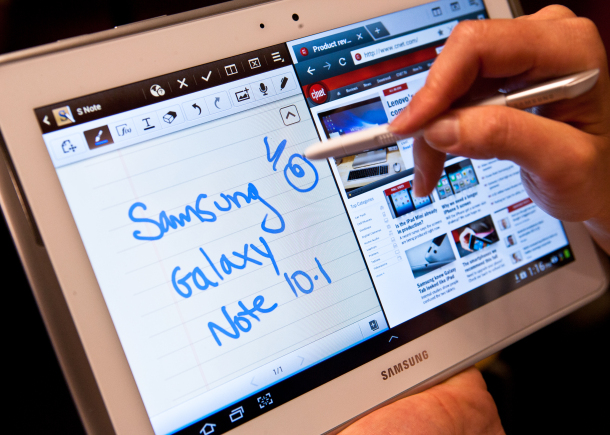 Samsung Galaxy Note 10.1 Hits Markets Shelves Today – Challenger To Apple's  iPad